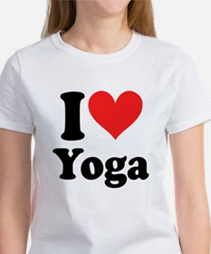I Heart Yoga: Women's T-Shirt