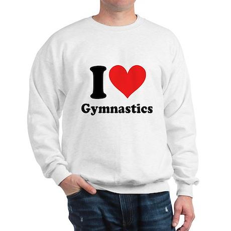 I heart Gymnastics: Sweatshirt