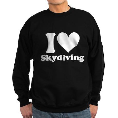 I Heart Skydiving: Sweatshirt (dark)