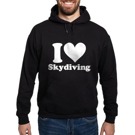I Heart Skydiving: Hoodie (dark)