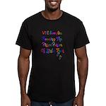Little Feet Men's Fitted T-Shirt (dark)