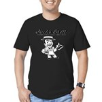 Jack's Grill Men's Fitted T-Shirt (dark)