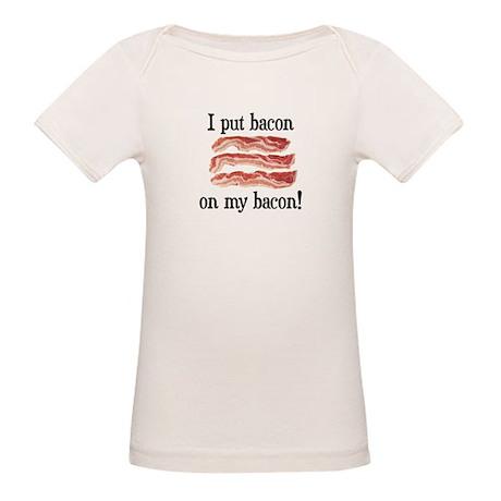 Bacon Lovers Organic Baby T-Shirt