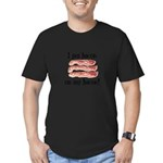 Bacon Lovers Men's Fitted T-Shirt (dark)