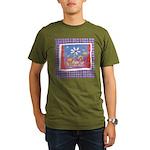 Spring Flowers Organic Men's T-Shirt (dark)