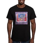 Spring Flowers Men's Fitted T-Shirt (dark)