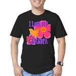 Love Grandpa Men's Fitted T-Shirt (dark)