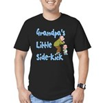 Grandpa's Sidekick Men's Fitted T-Shirt (dark)