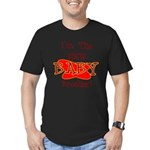 New Baby Brother Men's Fitted T-Shirt (dark)