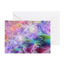 Cool Bright colors Greeting Card