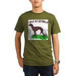 Greyhound Organic Men's T-Shirt (dark)