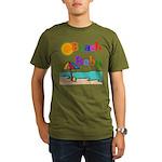 Beach Baby Organic Men's T-Shirt (dark)