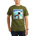 Shotput Organic Men's T-Shirt (dark)