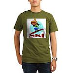 Ski Organic Men's T-Shirt (dark)