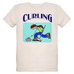 Curling Organic Kids T-Shirt