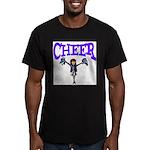 Cheer! Men's Fitted T-Shirt (dark)