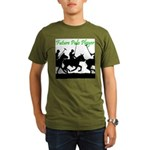 Future Polo Player Organic Men's T-Shirt (dark)