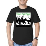 Future Polo Player Men's Fitted T-Shirt (dark)