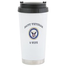 Veteran & Wife Travel Mug