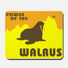 power of the WALRUS! Mousepad