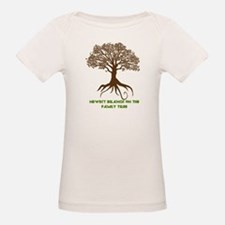 Newest Branch on the Family Tree (Organic Tee)
