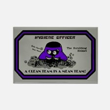 Hygiene Officer (I) Rectangle Magnet