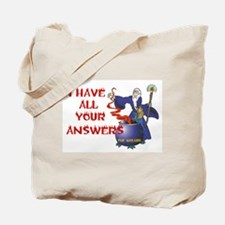 ASK ME A QUESTION Tote Bag
