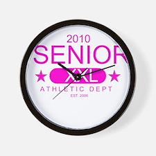 Seniors 2010 Wall Clock