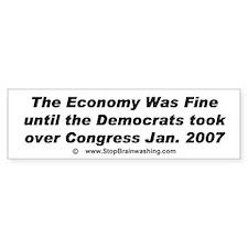 www.stopbrainwashing says The Economy was fine..