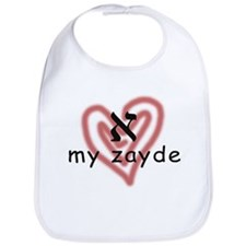 I Love My Zayde Bib
