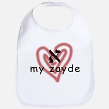 I Love My Zayde Bib