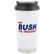 Jeb Bush for President Thermos Mug