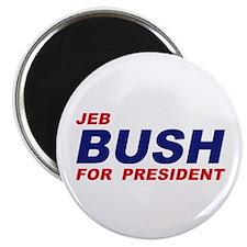 """Jeb Bush for President 2.25"""" Magnet (100 pack"""