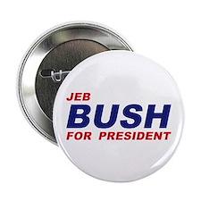 "Jeb Bush for President 2.25"" Button"