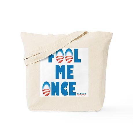Fool Me Once... Tote Bag