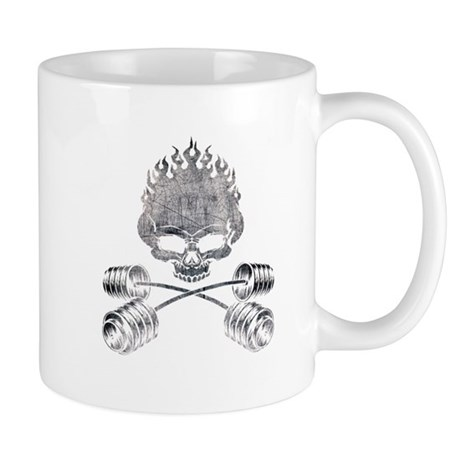 BARBELL CROSSBONES Mug