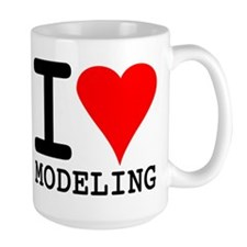 I Love Modeling Mug