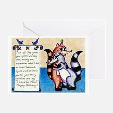 I Love You Mom! Greeting Card