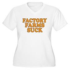 Factory Farms Suck T-Shirt