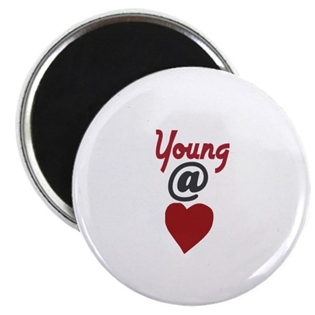 "Young at Heart 2.25"" Magnet (10 pack)"