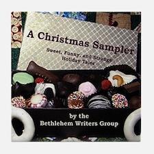 Christmas Book Tile Coaster