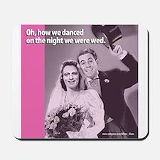 Gay Wedding Ceremony Mousepad