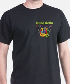 Funny Says hello T-Shirt