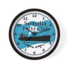 Somalia Yacht Club - Wall Clock