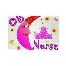 OB Nurse Rectangle Magnet