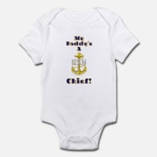 Daddy's A Chief Infant Bodysuit