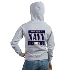 Proud Wife of a Chief 2 Zipped Hoody
