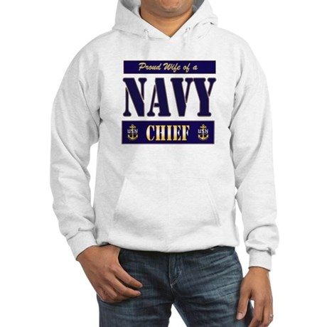 Proud Wife of a Chief 2 Hooded Sweatshirt