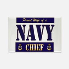 Proud Wife of a Chief 2 Rectangle Magnet