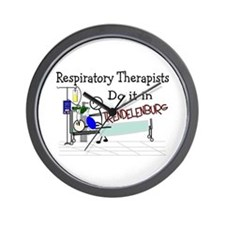 Respiratory Therapy VII Wall Clock